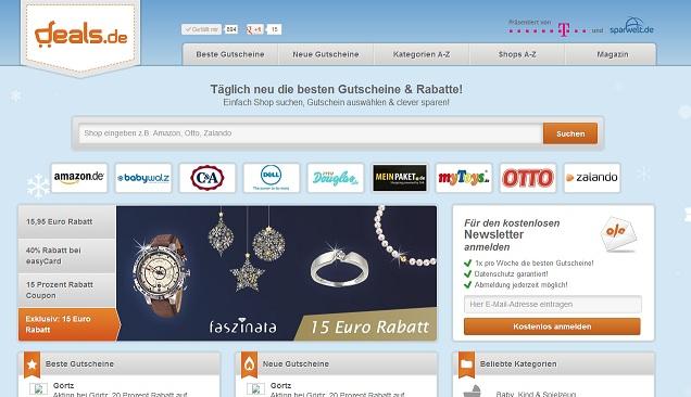 Deals.de Screen