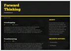 Forward Thinking Business Trends