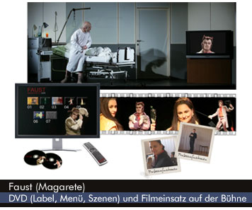 Mephistos Auftritt in Gounods Faust (Margarete)