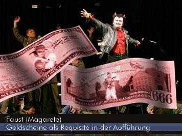 Gounods Faust - Geldscheine