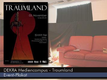Traumland - Veranstaltungsplakat