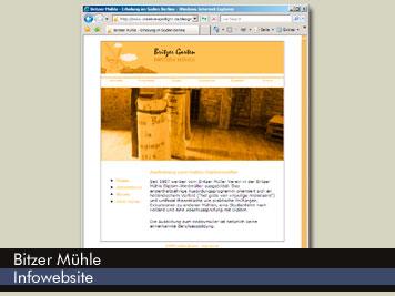 Britzer Mühle - Website