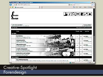 Creative Spotlight - Forenskin