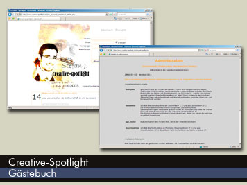 Creative Spotlight - Gästebuch