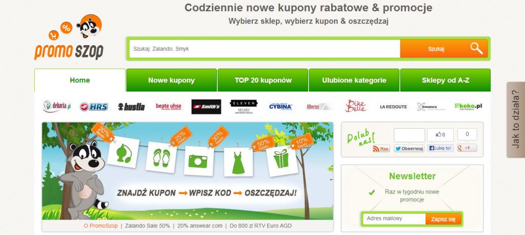 PromoSzop.pl - Promocje i Kody rabatowe i